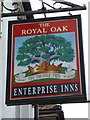 "SZ7997 : Sign at ""The Royal Oak"" PH by Shazz"
