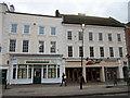 SO9570 : Bromsgrove High Street  Allan, Morris & Peace & Pizza Hut by Roy Hughes