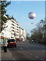 SZ0891 : Bournemouth: Bourne Avenue and the balloon by Chris Downer