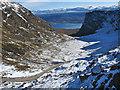 NG7741 : Bealach na Bà Hairpins in Winter by Robert Skipworth