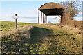 SO7962 : Dutch barn by Philip Halling