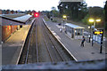 SP1465 : Henley-in-Arden station, early evening by Robin Stott