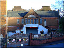 NS3174 : Highholm School demolition by Thomas Nugent