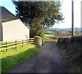 SO4402 : Road from Llansoy to Llangwm by Jaggery