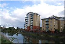 TM1543 : Riverside apartments by N Chadwick