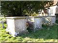 SU2743 : Chest tombs, St Michael's Church by Maigheach-gheal