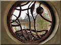 SO7104 : Through The Round Window : The Otter Pool by David Dixon