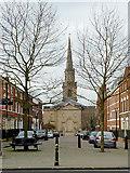 SO9198 : George Street, Wolverhampton by Roger  Kidd