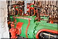 SJ9752 : Cheddleton Flint Mill - Robey Engine by Ashley Dace