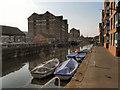 SO8218 : Gloucester Docks, Barge Arm by David Dixon