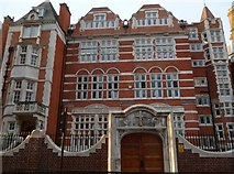 TQ2880 : St George's School, South Street W1 by Robin Sones