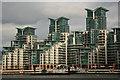 TQ3077 : St.George Wharf by Richard Croft