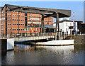 SO8218 : Llanthony Bridge, Gloucester Docks by David Dixon
