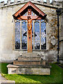 ST7593 : War memorial, St Mary's Church by David Dixon