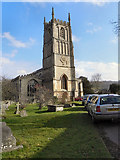 ST7593 : St Mary's Church Tower, Wotton under Edge by David Dixon