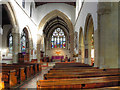 ST7598 : The Church of St James the Great, The Nave by David Dixon