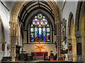 ST7598 : St James' Church, Chancel, Altar and East Window by David Dixon