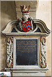 SU1872 : Monument to Ann Seymour - St Andrew's church, Ogbourne St Andrew by Mike Searle