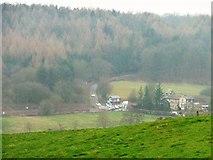 SE7365 : The level crossing, Kirkham by Christine Johnstone