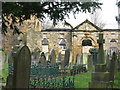 SK3898 : Old Holy Trinity Church, Wentworth by Dave Pickersgill