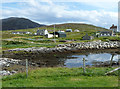 NG0186 : Leverburgh from the pier by Rob Farrow