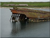ND4798 : Blockship, Weddell Sound, Orkney Islands by Robin Drayton