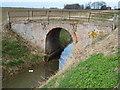 TF2709 : Bridge over St James' Drain near Poplars Farm Cottage by Richard Humphrey