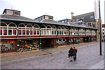 NZ2814 : Darlington Market Hall by Steve Daniels