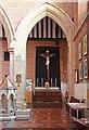 TQ2886 : St Mary Brookfield, Dartmouth Park Road - Calvary altar by John Salmon