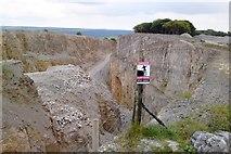 SK2173 : High Rake limestone quarry on Bleaklow, above Hassop, near Bakewell, Derbyshire by Chris Morgan