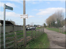 SP9013 : The Entrance Drive to Wilstone Great Farm by Chris Reynolds
