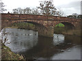 NY6423 : The River Eden flows under Bolton Bridge by Karl and Ali