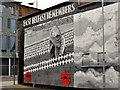 J3574 : Mural, Ballymacarrett, Belfast (1) by Albert Bridge