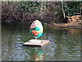TQ2979 : Egg 43 in The Fabergé Big Egg Hunt by PAUL FARMER