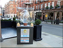 TQ2880 : Egg 196 in The Fabergé Big Egg Hunt by PAUL FARMER