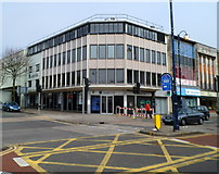 SS6593 : LloydsTSB The Kingsway branch, Swansea by Jaggery