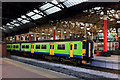 SJ8499 : Ex London Midland Sprinter, Manchester Victoria by Phil Champion