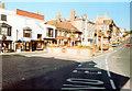 TQ0107 : Arundel High Street 19.9.89 by Roy Hughes