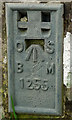 NY6423 : Flush bracket, Bolton Bridge by Karl and Ali