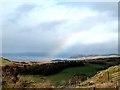 NR9174 : Rainbow over Auchalick Bay by Joan Sykes