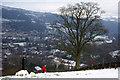SE0025 : A lone tree above Mytholmroyd by Phil Champion