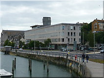 SY6778 : Weymouth - Council Offices by Chris Talbot