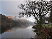 NS1488 : Daybreak on Loch Eck at the Coylet Inn by Alan Reid