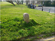 SY6878 : Weymouth - War Department Boundary Marker by Chris Talbot