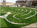 SY6878 : Weymouth - Peace Garden by Chris Talbot