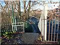 SJ8293 : The top of Twenty-Seven Steps, Mauldeth Road West, Chorlton by Phil Champion