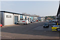 SU4930 : Business Units on Easton Lane by Peter Facey