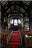 SJ8567 : Timber framed nave by Peter Turner