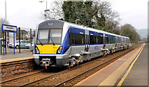 J3582 : Train, Whiteabbey station (2012-2) by Albert Bridge