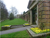 SE2955 : The Sun Colonnade, Valley Gardens by Marathon